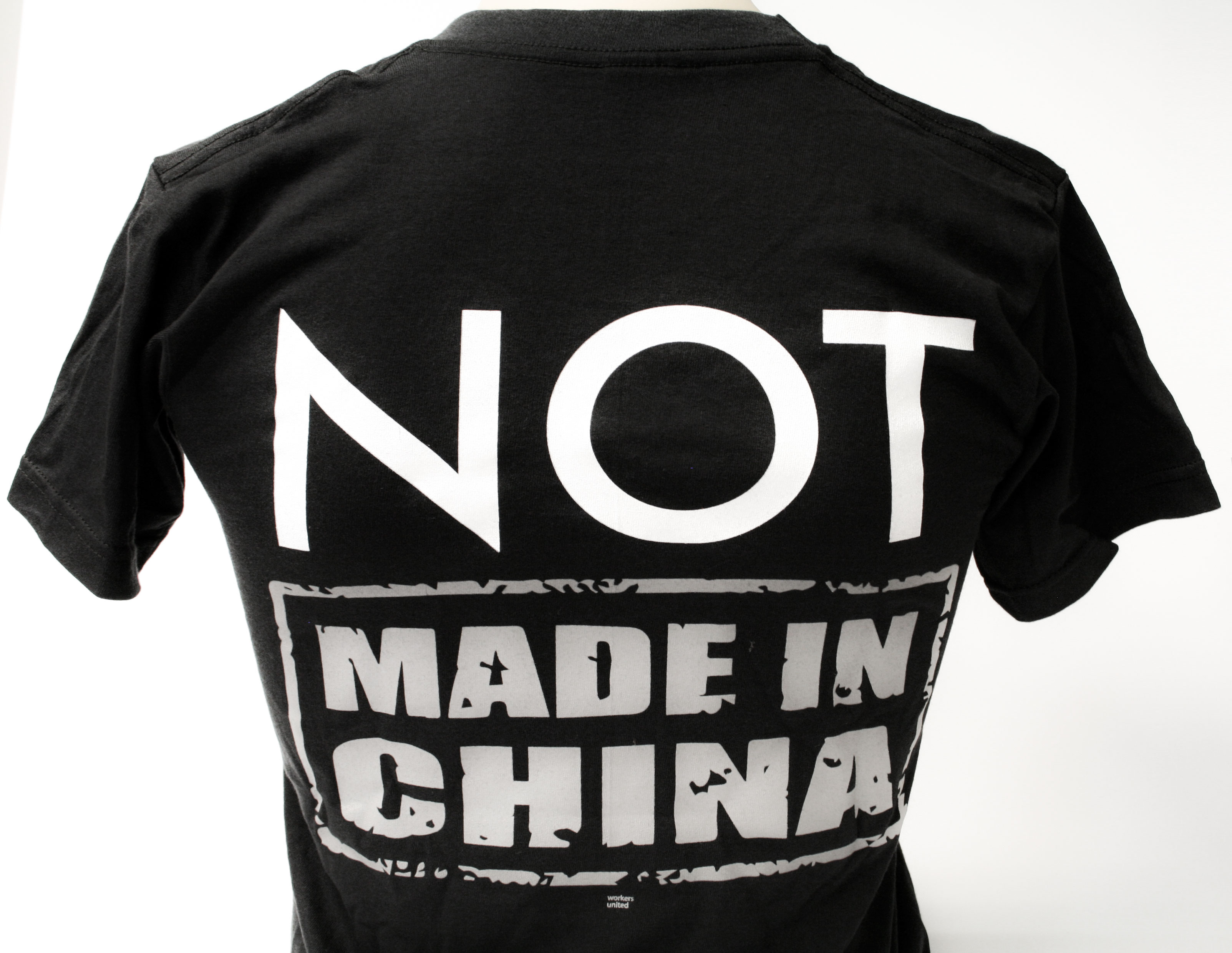 not made in china t shirt afscme council 13 store. Black Bedroom Furniture Sets. Home Design Ideas