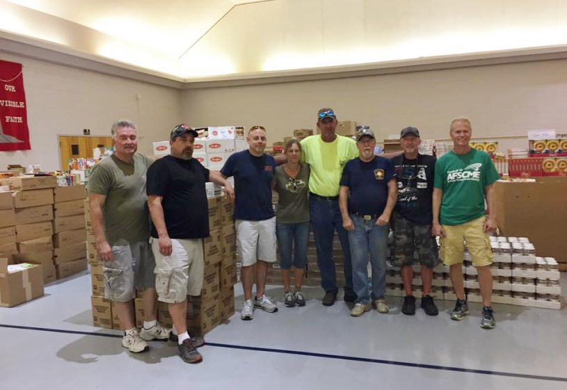 AFSCME Local 2944 members aid Hurricane Florence victims