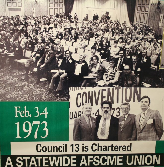 AFSCME Council 13's founding convention was held in 1973.